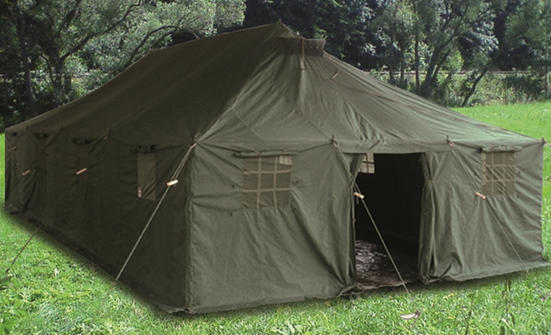 Olive Canvas Military Tent 10 x 48m new ... & Olive Canvas Military Tent 10 x 48m new | Trekking \ Tents \ 4 ...