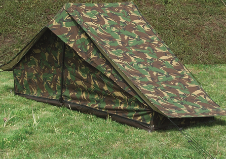 Dutch Camo 1-man Tent W.groundsheet Used ... : military surplus tents - memphite.com