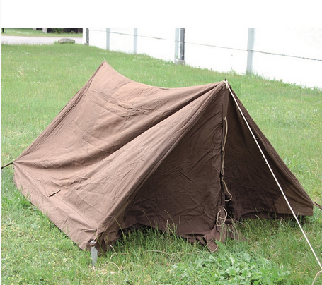 British Khaki Complete Biwak Tent Used ... & British Khaki Complete Biwak Tent Used | Military Surplus \ Used ...