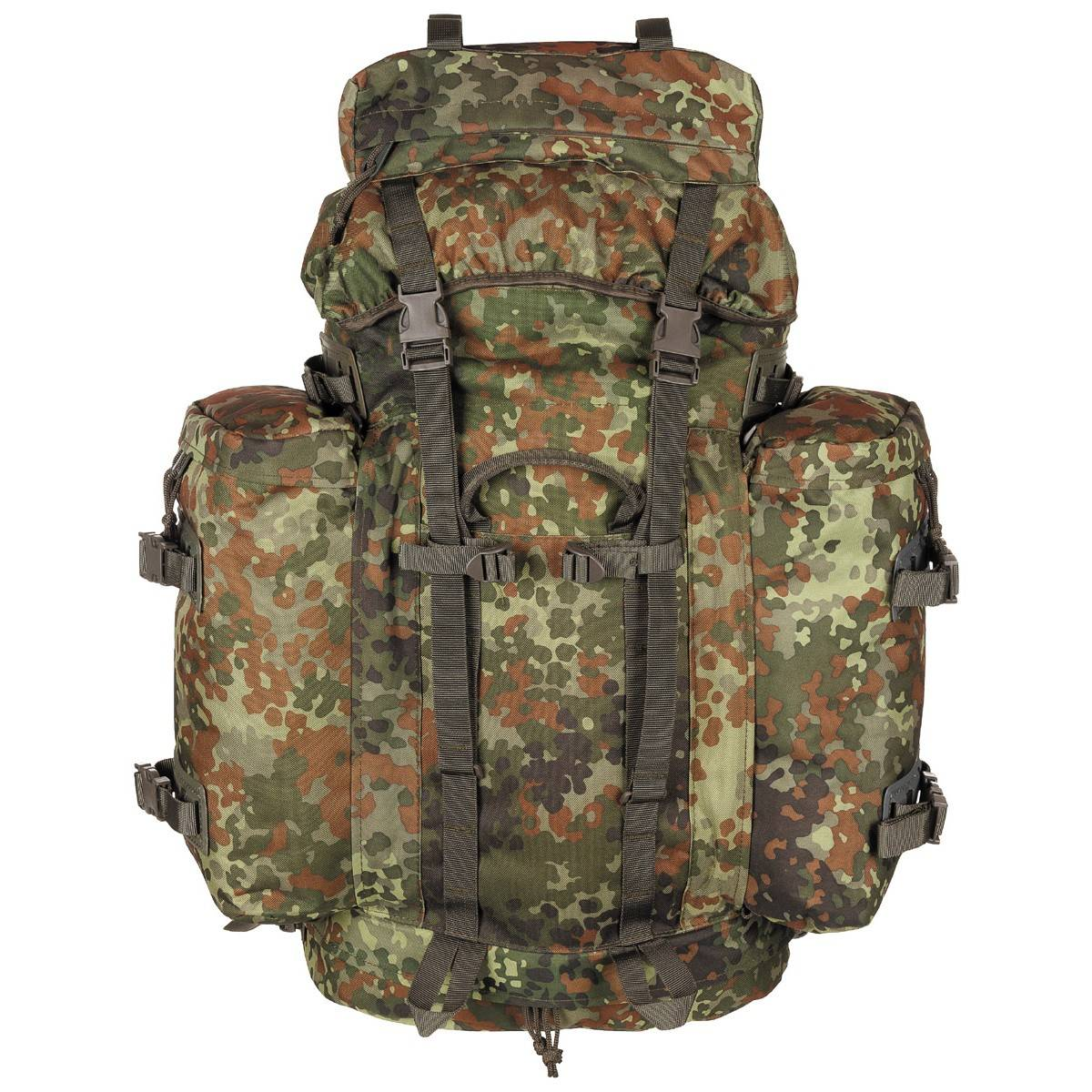 """Bag, backpack - """"BW Mountain"""" - 80 l - 2 side bags"""