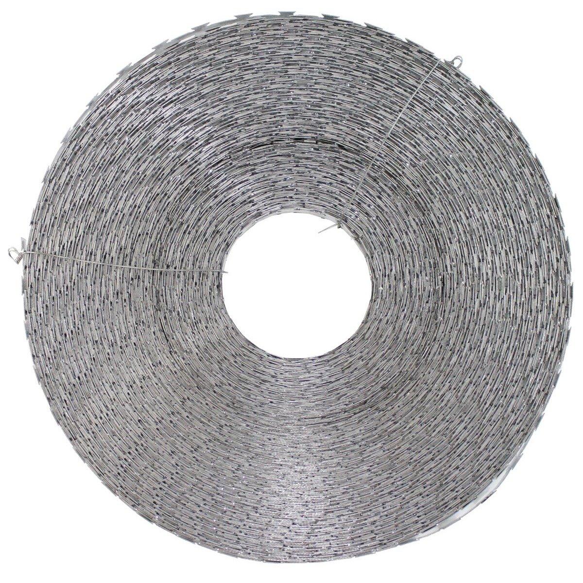 Barbed wire metal m coil diameter cm trekking