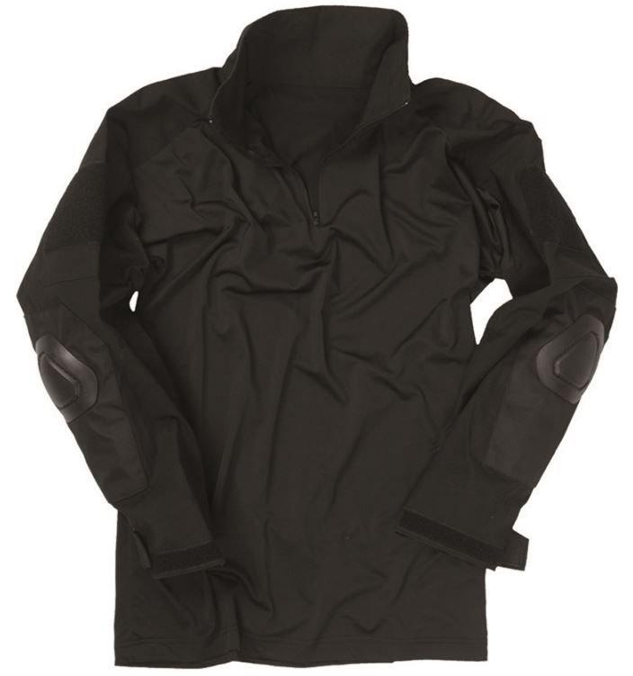 black tactical shirt �warrior� black trekking men180s