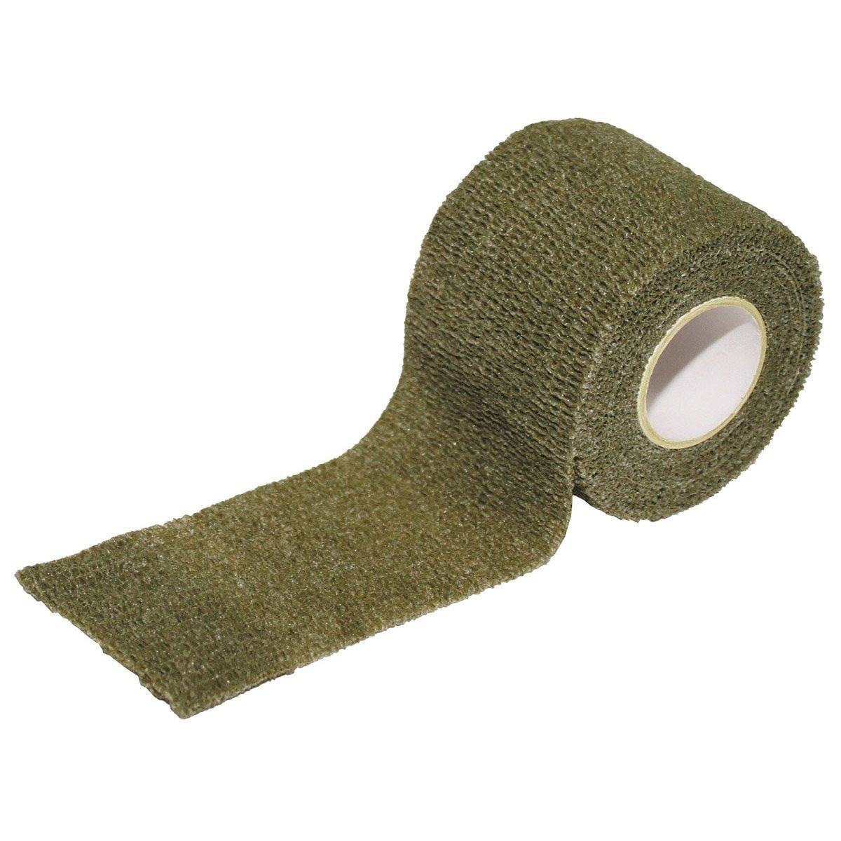Camo tape, self-adhesive, 5 cm x 4.5 m, OD green ...
