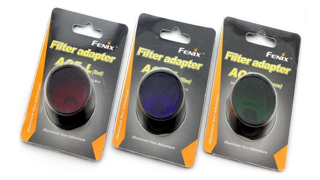 Aof: Fenix Filter Adapter - AOF-L - Green