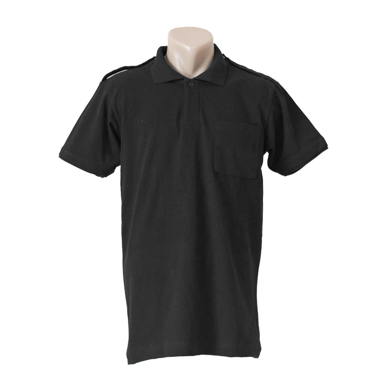 Polo t shirt black with pocket police ems fire for Polo t shirts with pocket online