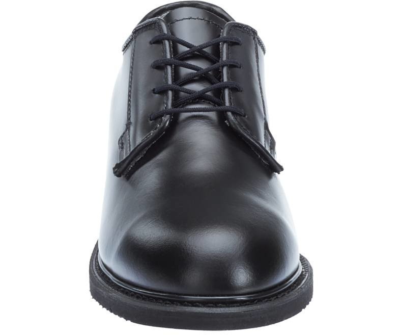Bates Lites Black Leather Oxford Shoes