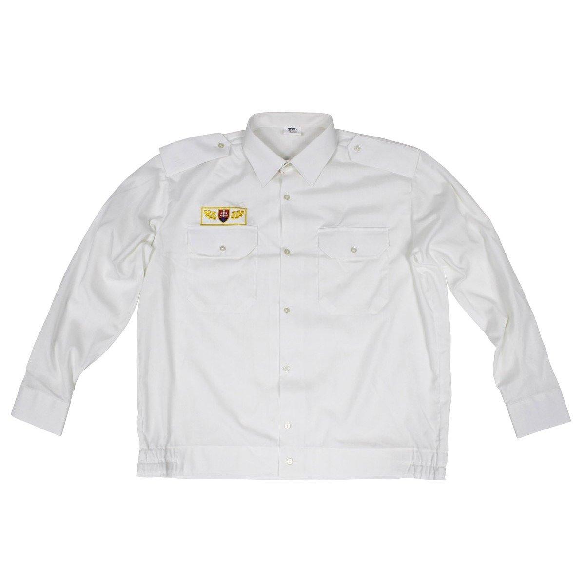Sk shirt white like new military surplus used for White military dress shirt