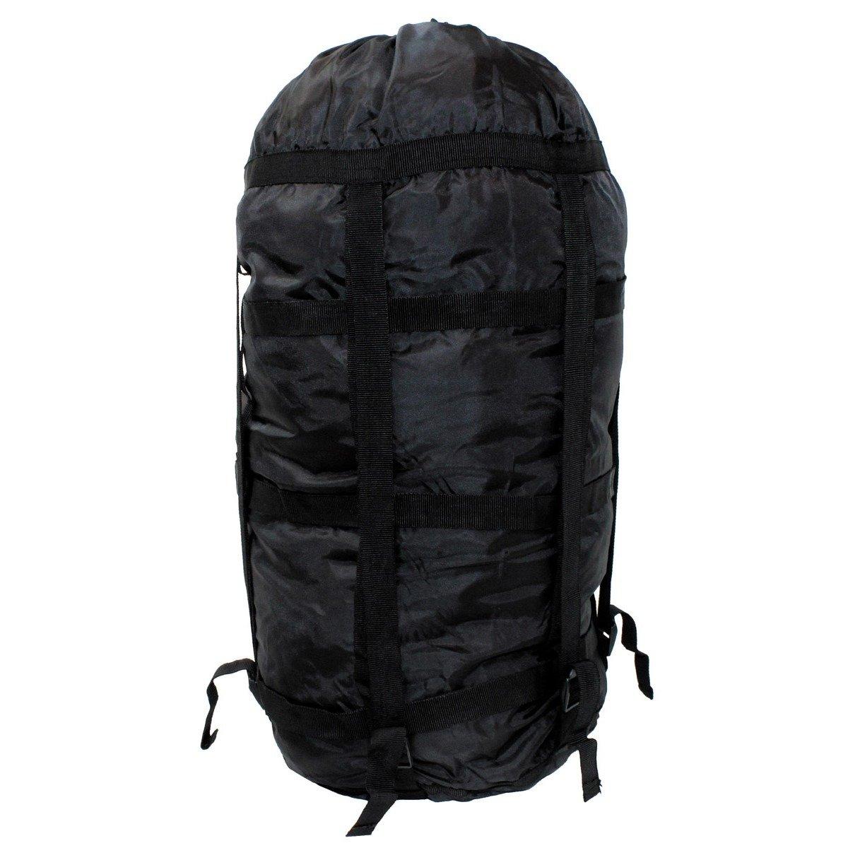 US Compression Bag for sleeping bag, black