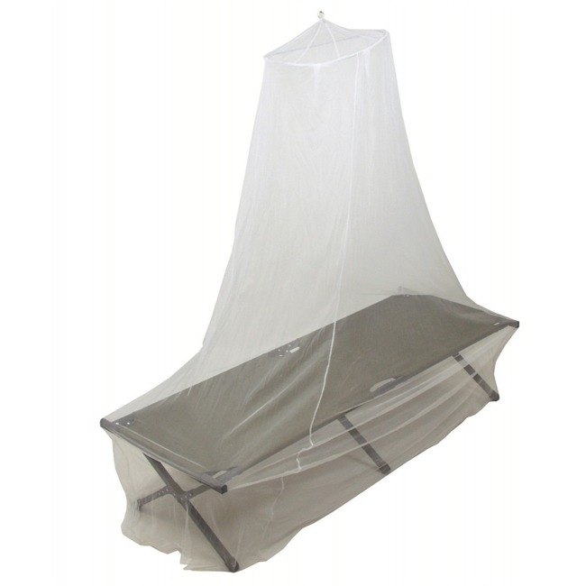 Mosquito Net, white, single, 0,63 x 2 x 8 m