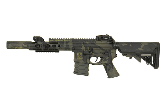 Replica riffle gun ASR112 GUARDIAN EBB Full-Metal - MultiCam Black [APS]