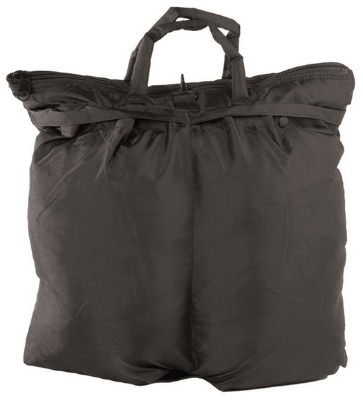 72a6be3b35 BLACK US FLYER′S HELMET BAG WITH STRAP Black