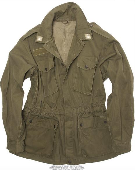 Italian Od Field Jacket Used ... 59850c7e1bd