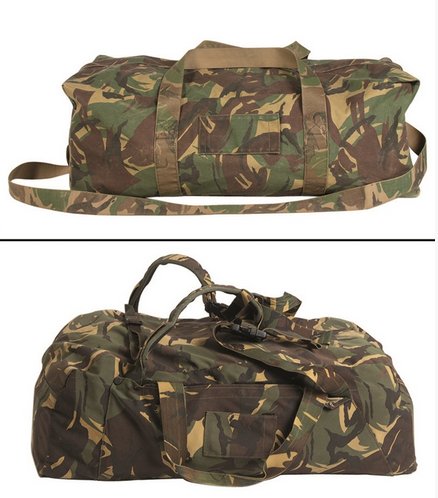 Dutch Camo Combat Duffle Bag Used ... 2b0381768661a