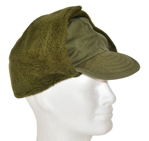 DANISH ARMY O.D. WINTER CAP USED  517aa7c7405