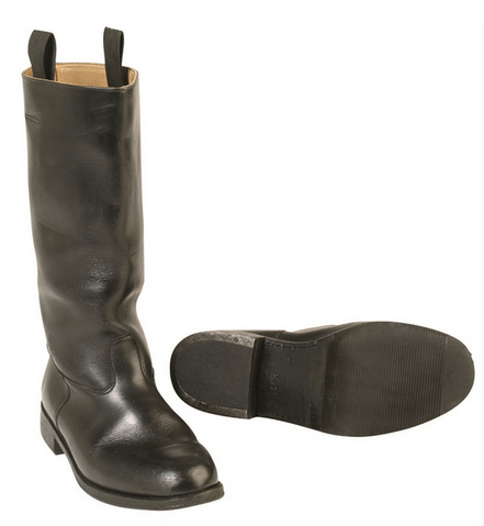 ed40f8448a6 German High Boots (Wachbataillon) Used