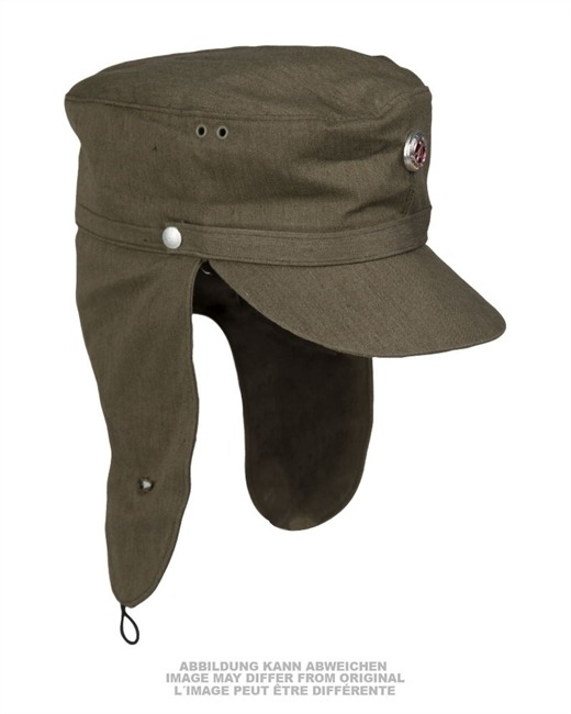e87c0652cb1 ... EAST GERMAN OD MOUNTAIN TROOP CAP W. COCKADE USED ...