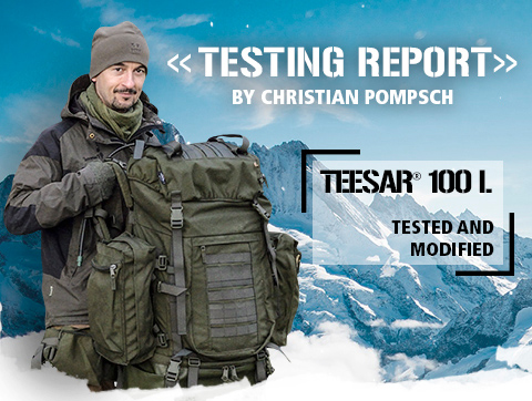 Back to nature Teesar 100L Backpack