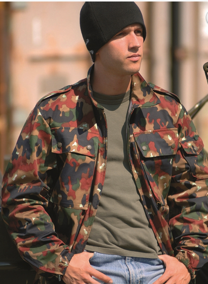 19cedc0cb3d Swiss Camo M83 Field Jacket Used