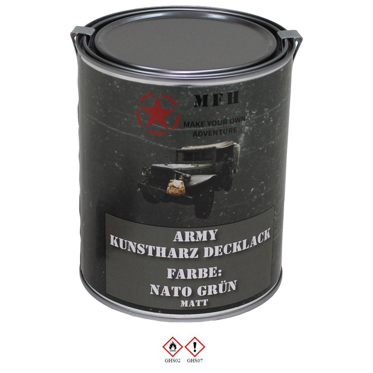 Army Paint, NATO GREEN, mat, 1 liter | Military Tactical