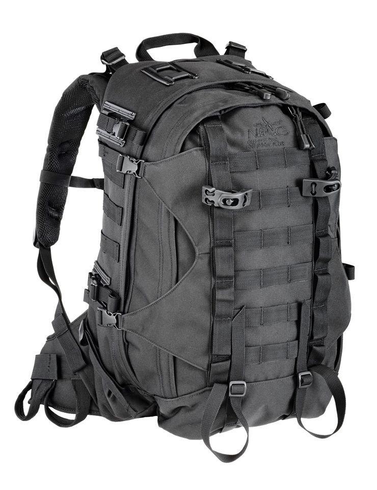 8fd21257e95c Backpack N.E.R.G MOLLE System, Cordura 1000D, 45L, Black Black   Trekking \  Backpacks and suitcases \ Backpacks 40 liters Military Tactical \ Rucksacks  ...