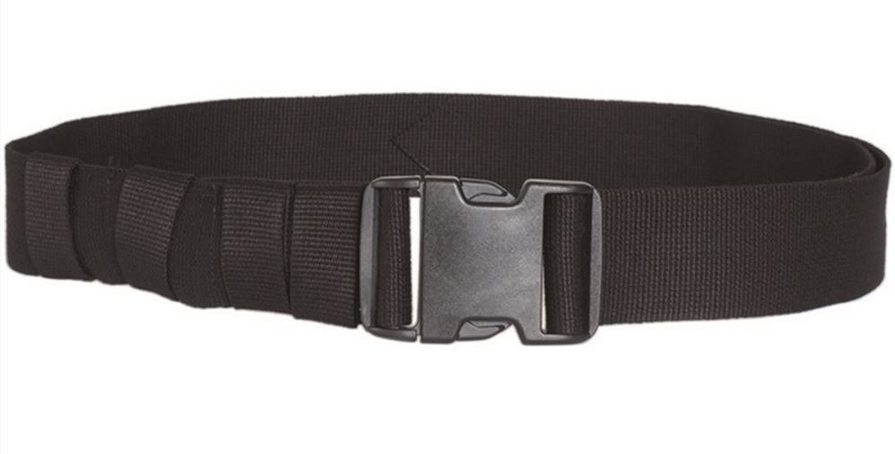 Black ARMY BELT QUICK RELEASE 50MM