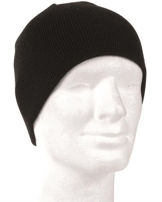 5d959f1dfe9 Black MIL-TEC® WATCH CAP BEANIE Black
