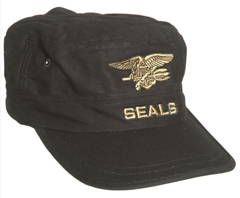 MIL-TEC FIELD NAVY SEALS 100/% COTTON PEAKED CAP MILITARY STYLE ARMY