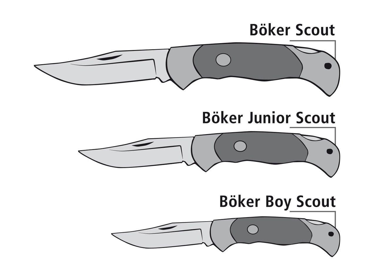 Böker Boy Scout Stag Pocketknife   Knives \ Pocket Knives