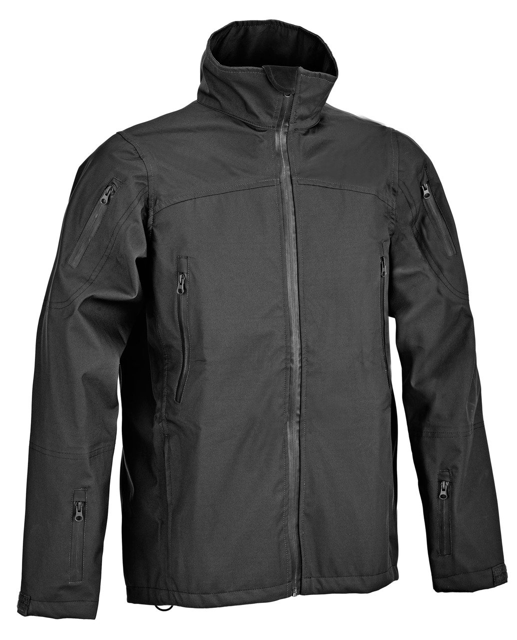 6adafb9f06b ... Black Duty Jacket: DUTY AQUA TEX® JACKET - Black