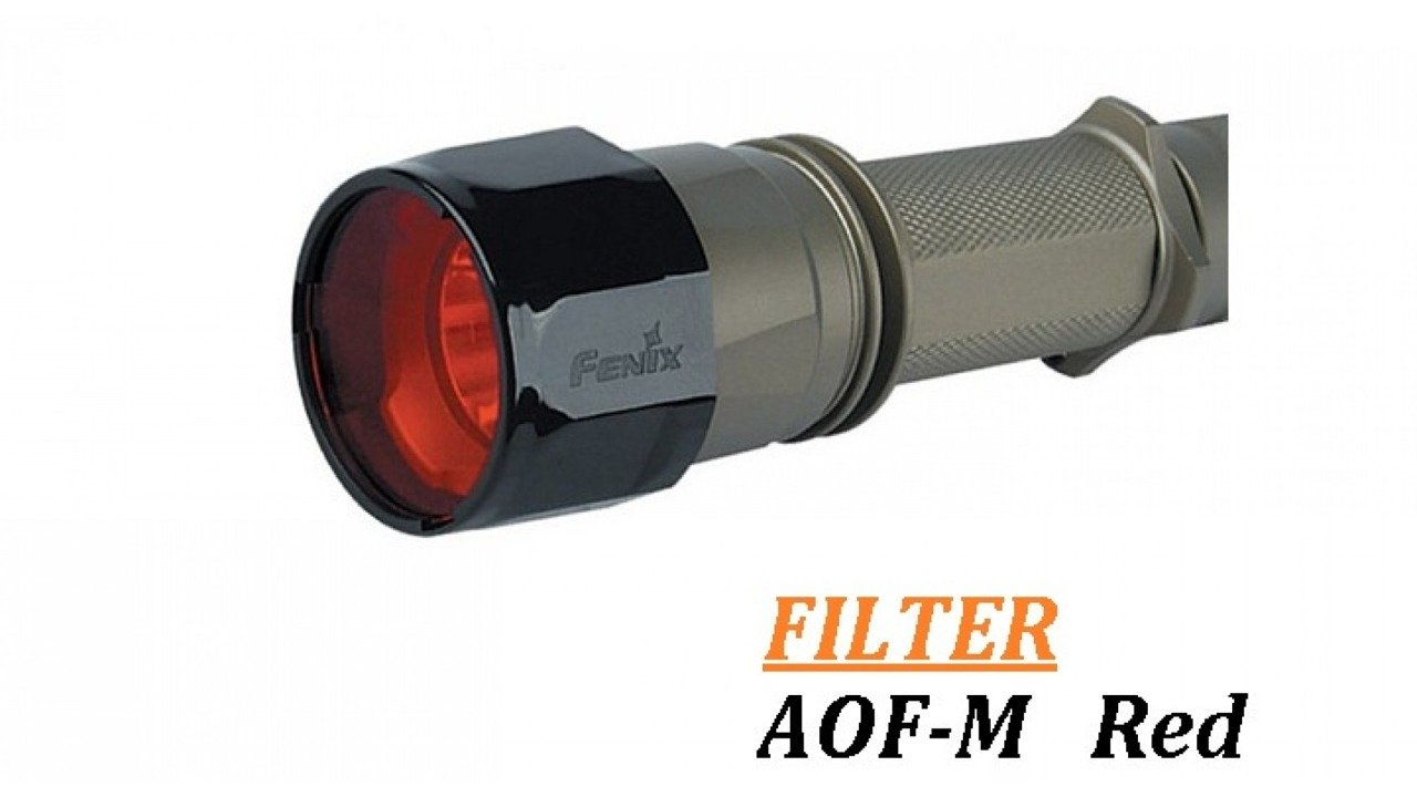 Aof: Fenix Filter Adapter - AOF-M - Red