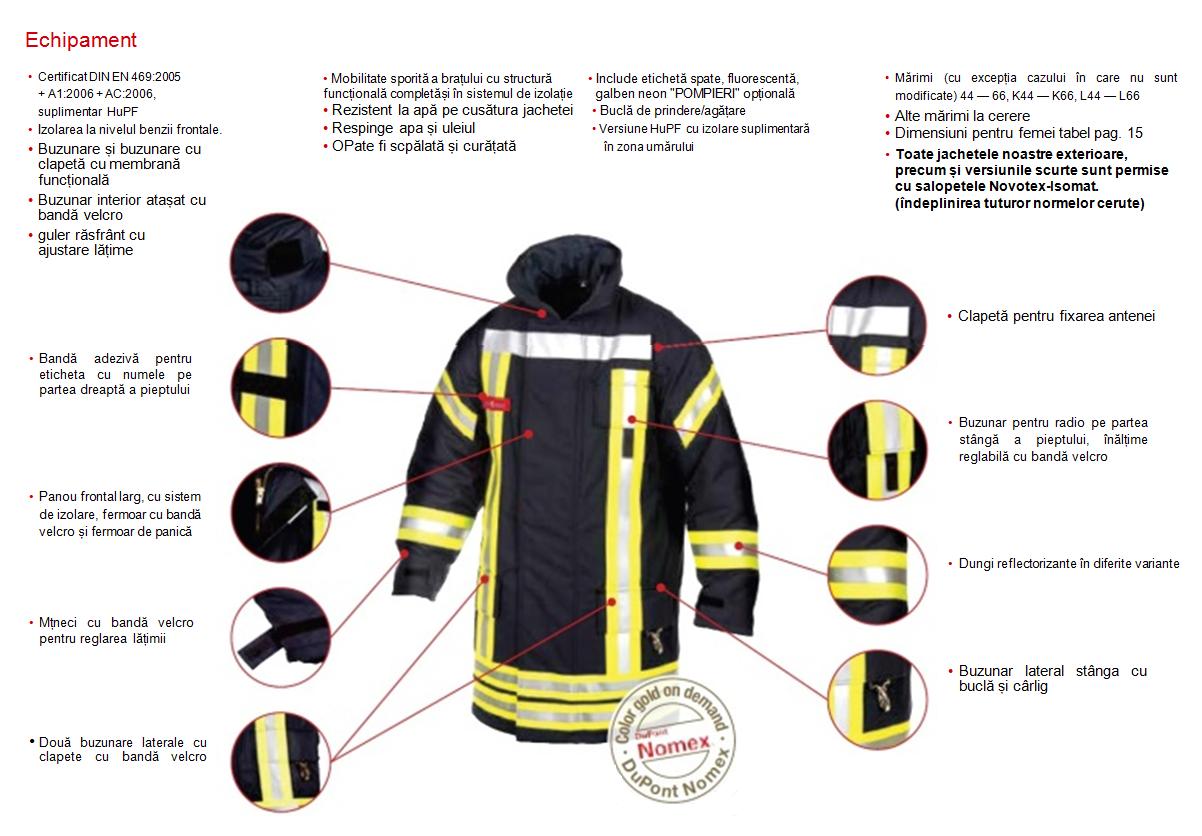Fire-fighting suit NOMEX | Police, EMS & Fire \ Pompieri