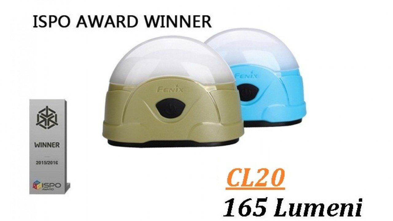 Flashlight Fenix CL20 Olive/Green