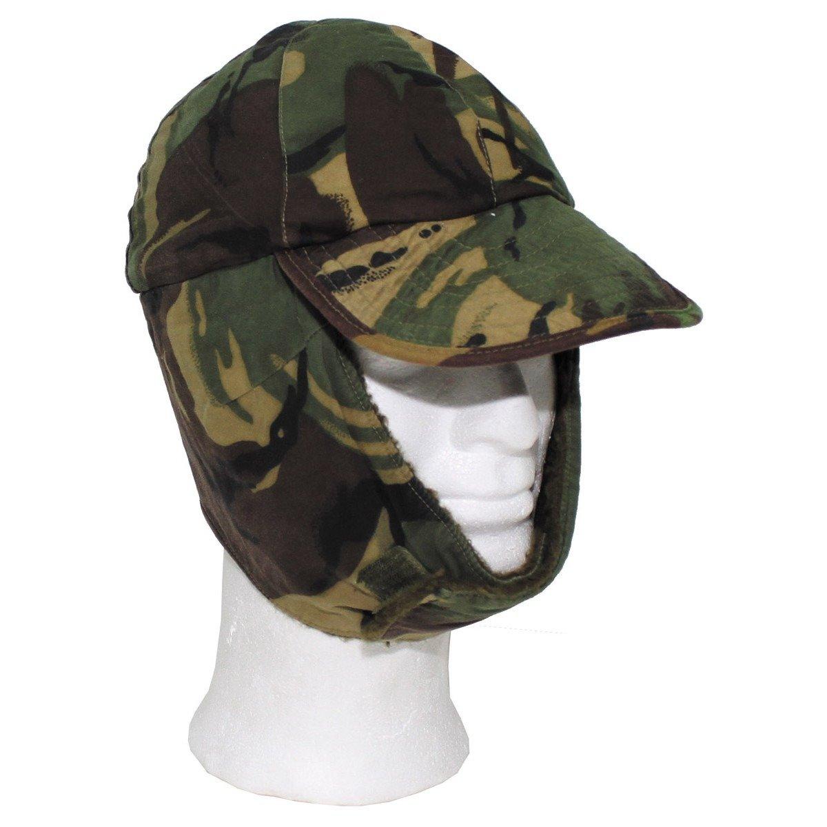 GB Winter Cap, DPM camo, used