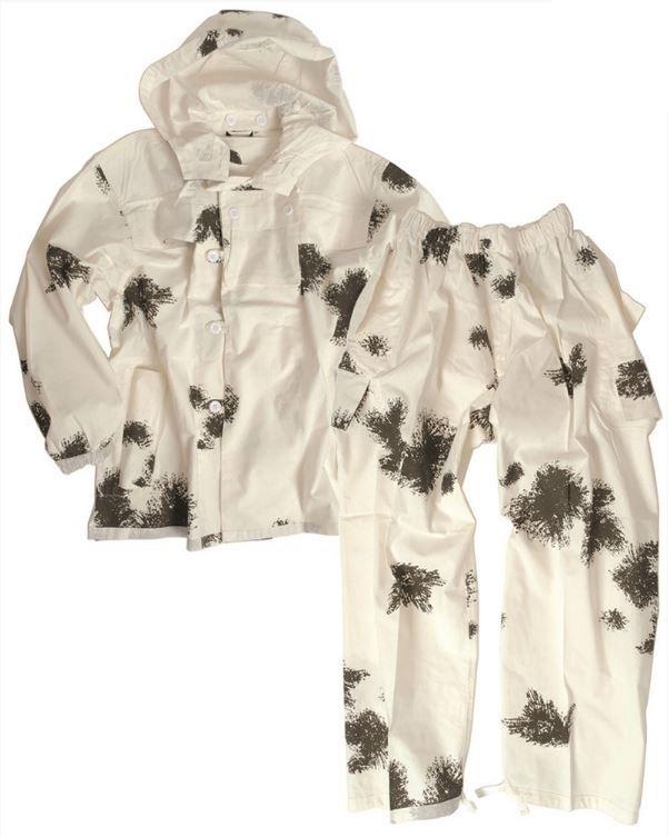 f59265d3 GERMAN COTTON 2-PC. SNOW CAMO SUIT Snow Camo | Apparel \ Protective &  Camouflage Wear \ Snow Camo Wear Hunting \ Clothes militarysurplus.eu