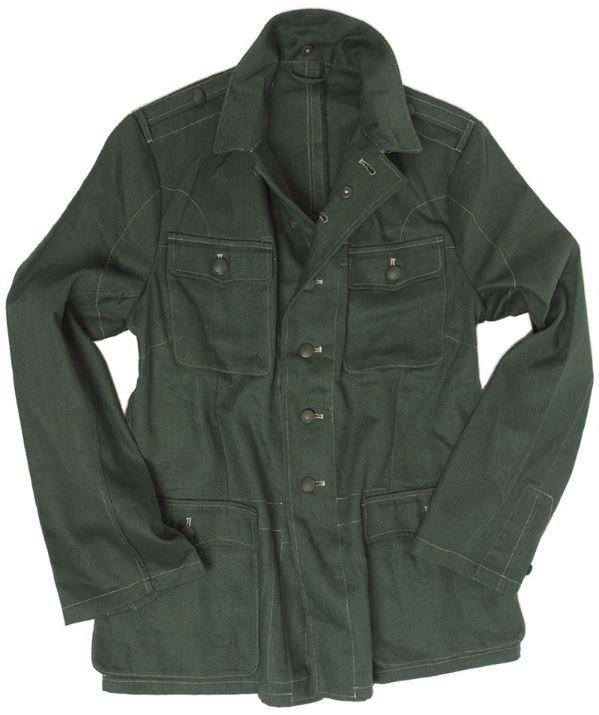 74043bfce89 German WWII M40 Fatigue jacket HBT - repro