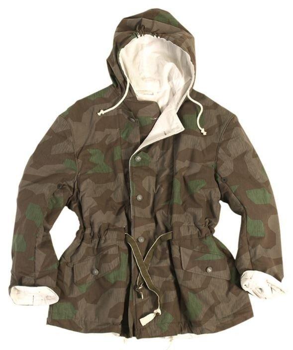 German WWII Splinter Camo reversible jacket