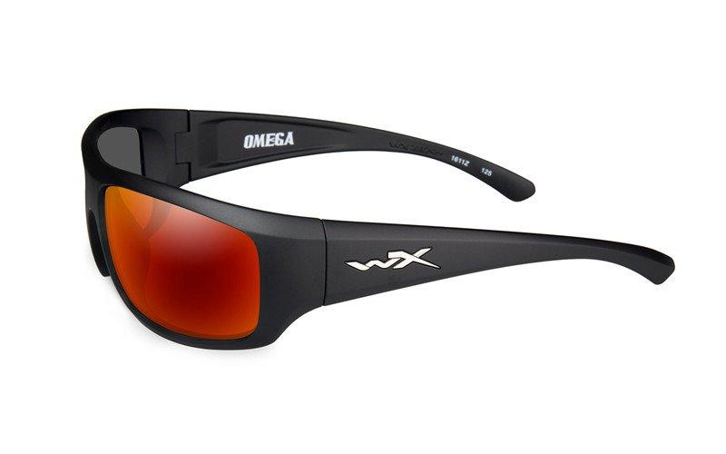 3971233cc40 Glasses - Wileyx - OMEGA Polarized Crimson Mirror Matte Black Frame ...