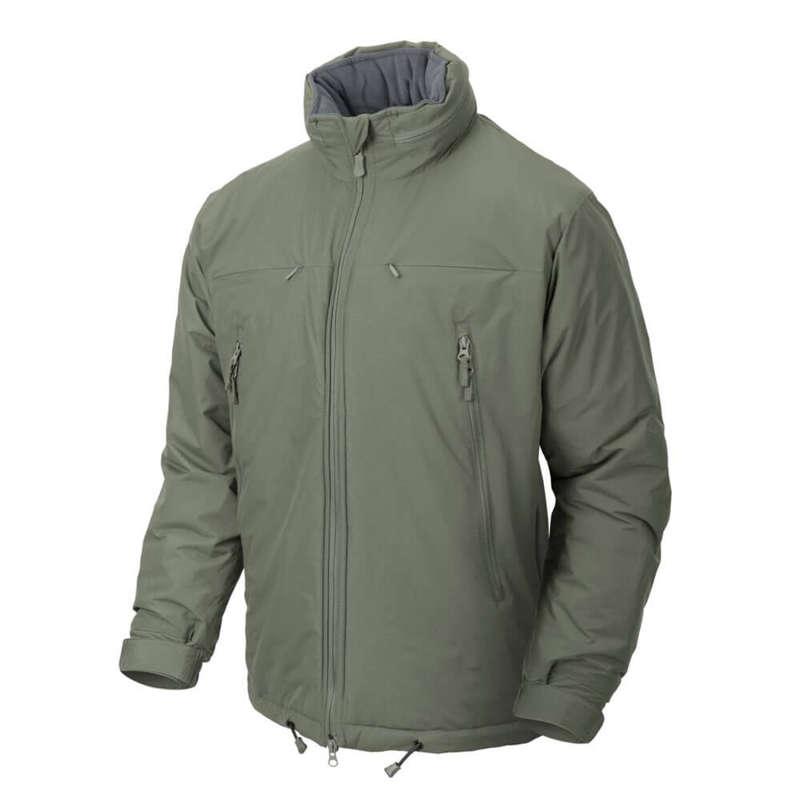 HUSKY Tactical Winter Jacket - Climashield® Apex 100g - Alpha Green ... 65b7736d3a