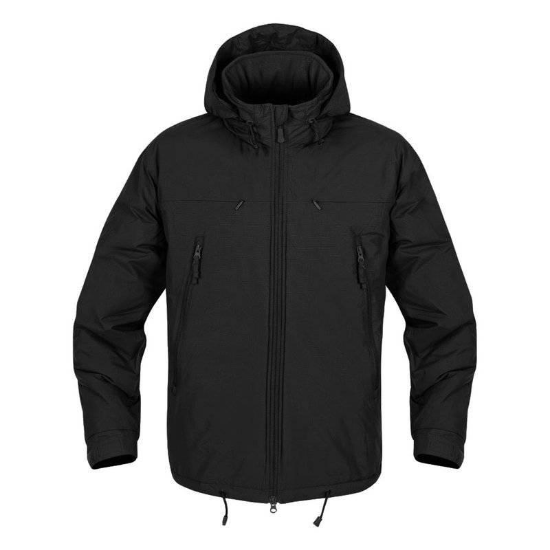 HUSKY Tactical Winter Jacket - Climashield® Apex 100g - Black Black ... 26d218231e
