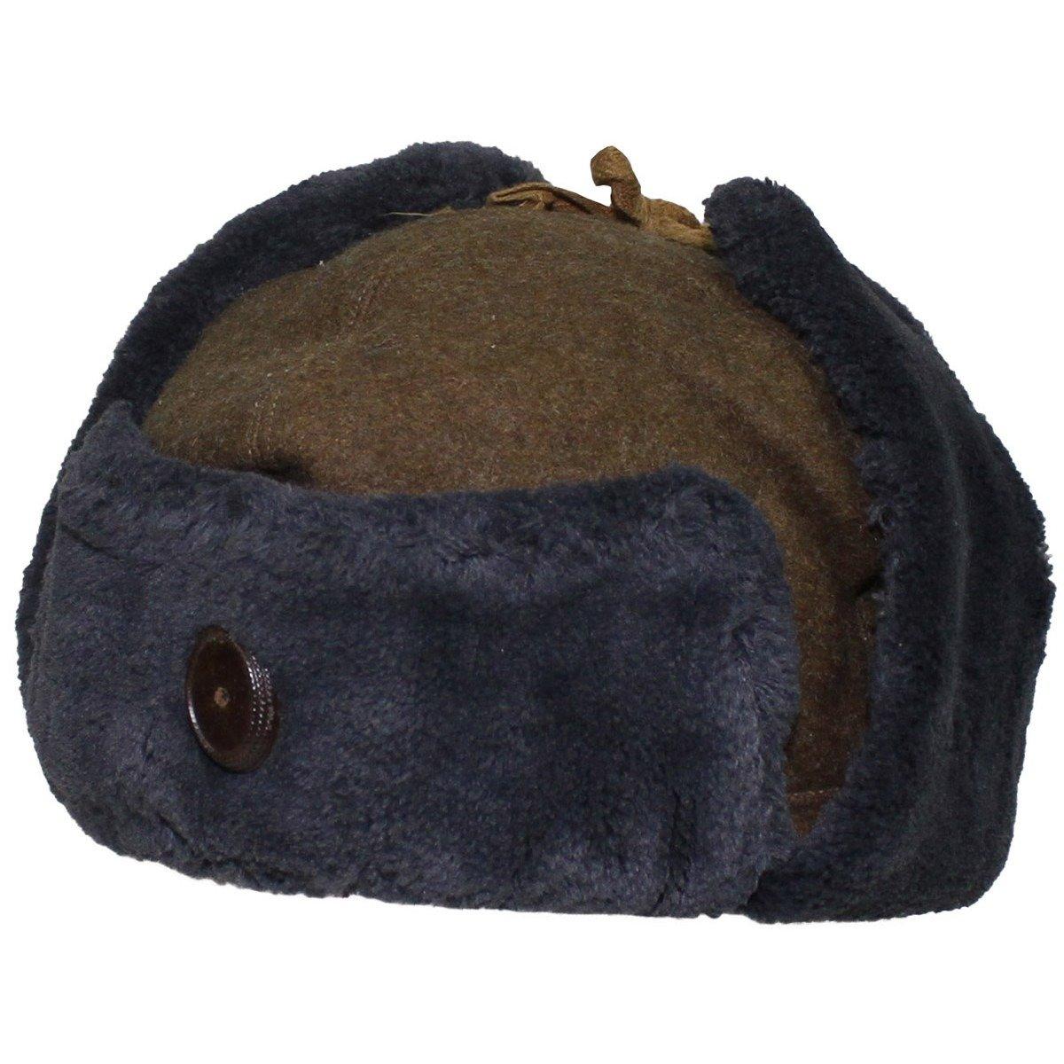 8887b8c0953c34 Hungarian Winter Cap, OD green, like new | Military Surplus \ Used Clothing  \ Headwear \ Winter Caps Military Surplus \ Used Clothing \ Headwear \  Other ...