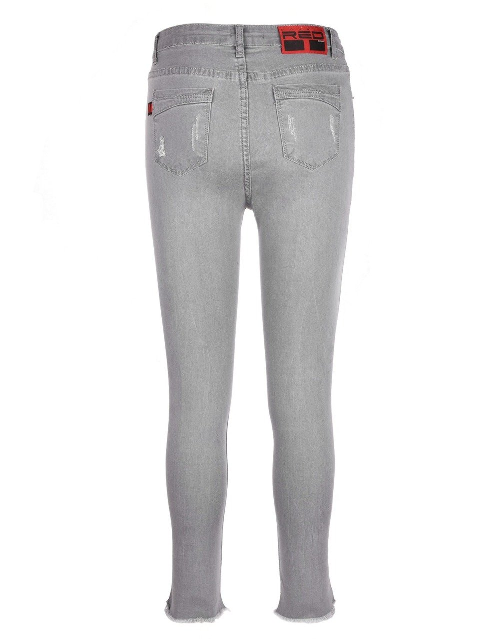 how to wear grey jeans women