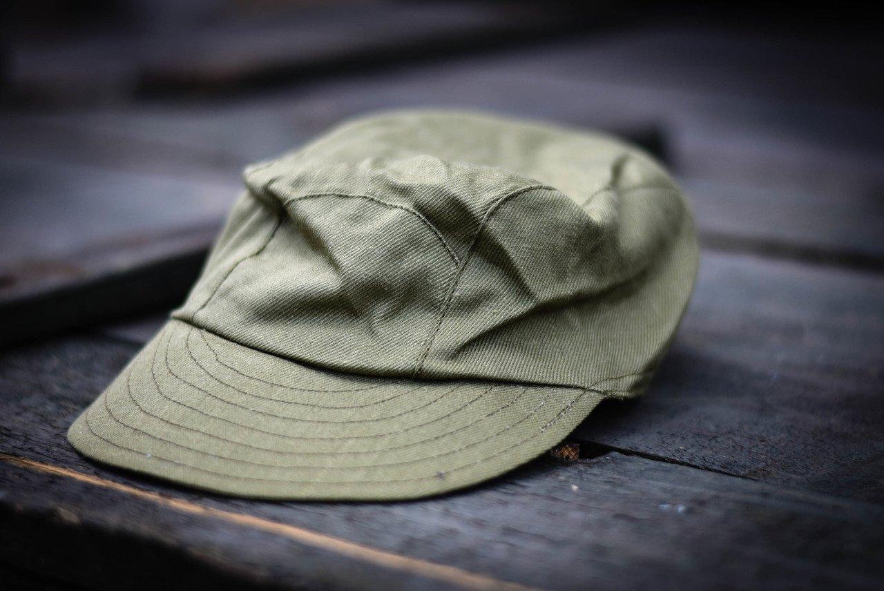 Khaki Cap, Romanian Army Surplus