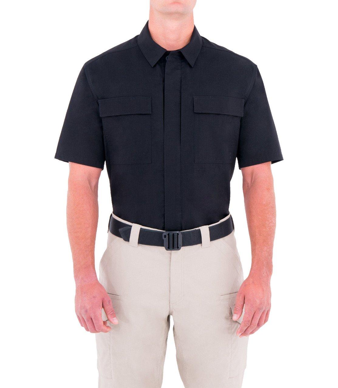 ece64e37 Men's Specialist Short Sleeve BDU Shirt Black   Police, EMS & Fire ...