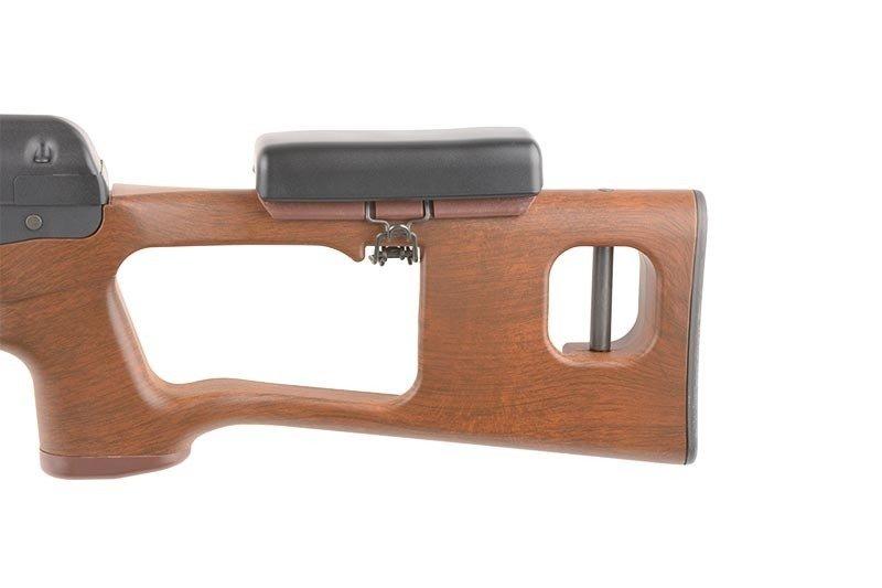 Wood River Kia >> Replica SVD - KA-AG-98 Sniper Rifle Replica - Wood ...