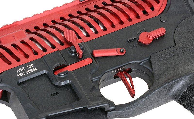 Replica riffle gun ASR120 Red Dragon EBB Full-Metal - Red