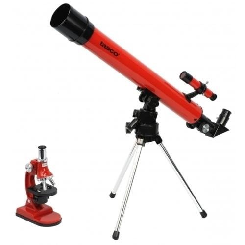 Tasco Telescope Set 50X50 And 900X Microscope