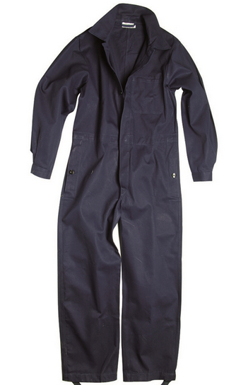 German Blue Work Coverall Like New