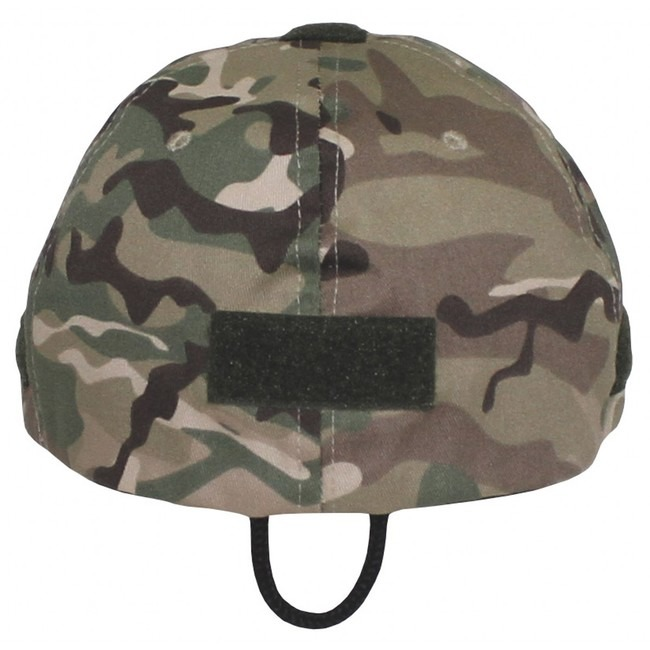 Operations Cap, with velcro, Multicam