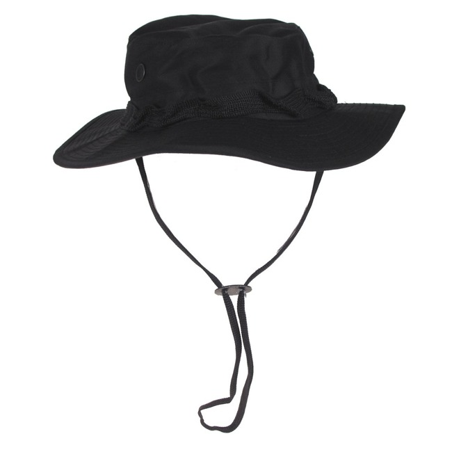 US GI Bush Hat, Rip Stop, Black