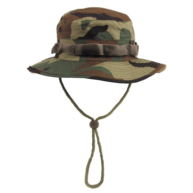 US GI Bush Hat, Rip Stop, Woodland